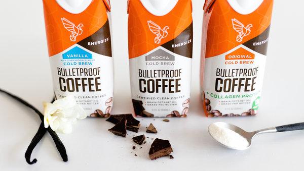 bulletproof cold brew coffee