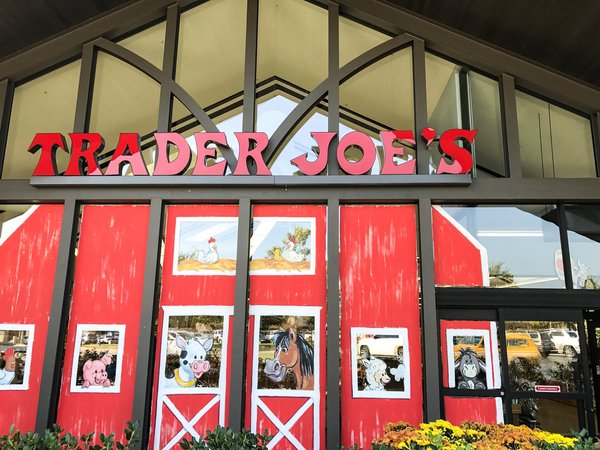 exterior of trader joes store
