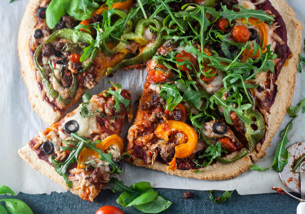 paleo veggie pizza